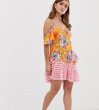 Jaded London | Платье мини с принтом Jaded London Petite - Мульти | Clouty