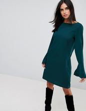 Vila | Платье с рукавами-клеш Vila - Зеленый | Clouty