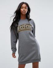 CARHARTT   Свободное платье-свитшот с логотипом Carhartt WIP - Серый   Clouty