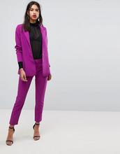 Y.A.S.   Узкие брюки-сигареты Y.A.S - Фиолетовый   Clouty