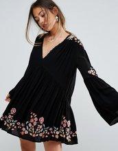 Free People | Платье с вышивкой Free People Te Amo - Мульти | Clouty