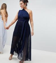 Coast | Платье макси Coast Plus Corwin - Темно-синий | Clouty