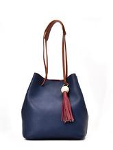 Shein | Tassel Detail Drawstring Bucket Bag | Clouty