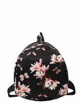 Shein | Butterfly & Flower Print Backpack | Clouty