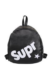 Shein | Letter Print PU Backpacks Bag | Clouty