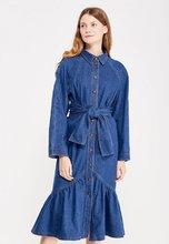 Vika Smolyanitskaya | Платье джинсовое | Clouty