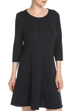 Vila | Полуприлегающее платье с рукавами 3/4 Vila | Clouty