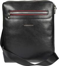 Sergio Belotti | Кожаные сумки Sergio Belotti 9137-otranto-black-rubino | Clouty