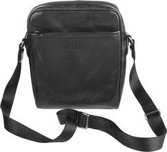 Sergio Belotti | Кожаные сумки Sergio Belotti 9272-milano-black | Clouty