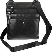 Sergio Belotti | Кожаные сумки Sergio Belotti 9327-west-black | Clouty