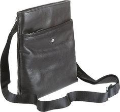 Sergio Belotti | Кожаные сумки Sergio Belotti 9551-west-black | Clouty