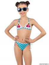 Charmante | Купальник для девочек (бюст, плавки, юбка) GMU 021609 Orio | Clouty