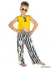 Charmante | Пляжный комплект для девочек (брюки+топ) GX 011610 AF Chloe | Clouty