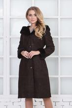 Московская Меховая Компания | Дубленка женская из натуральной овчины с капюшоном, без отделки | Clouty