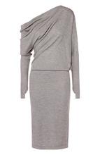 Tom Ford   Кашемировое приталенное платье с драпировкой Tom Ford   Clouty