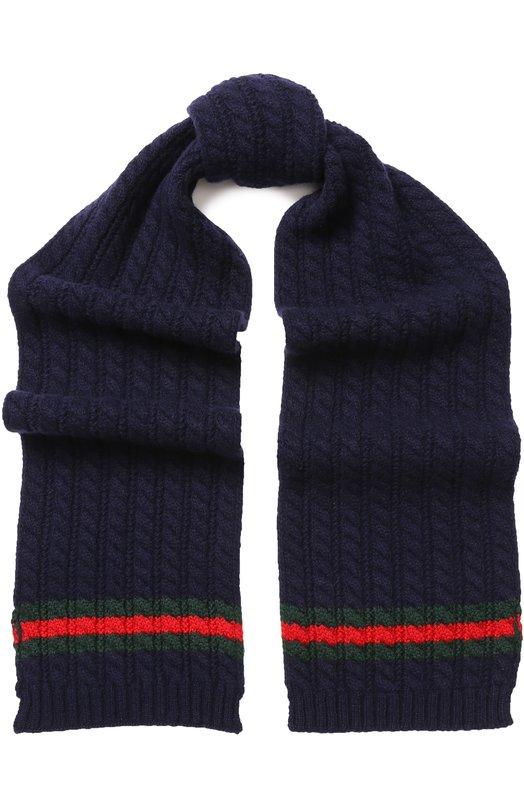 Шерстяной шарф Gucci 473636 4K206 - цена 11150 руб. 4f48ab8d77624