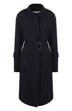 Victoria Beckham | Шерстяное однотонное пальто с поясом Victoria Beckham | Clouty