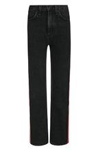 RAG & BONE | Укороченные джинсы с контрастными лампасами и потертостями Rag&Bone | Clouty