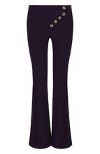 Chloé   Расклешенные шерстяные брюки с карманами Chloe   Clouty