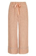 Bally | Укороченные шелковые брюки с пижамном стиле Bally | Clouty