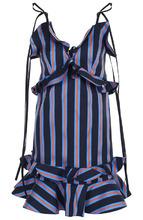 KENZO | Мини-платье в полоску с оборками Kenzo | Clouty