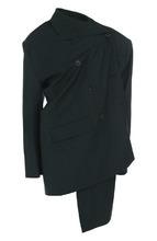 Balenciaga | Шерстяной двубортный жакет асимметричного кроя Balenciaga | Clouty