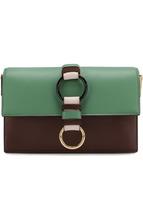 Diane Von Furstenberg   Кожаная сумка на цепочке Diane Von Furstenberg   Clouty