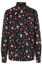 Marc Jacobs | Шелковая блуза с принтом и воротником аскот Marc Jacobs | Clouty