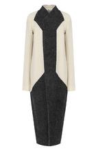 RICK OWENS | Удлиненное шерстяное пальто свободного кроя Rick Owens | Clouty