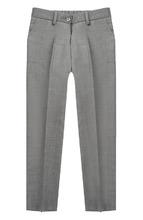 Dal Lago | Шерстяные брюки прямого кроя Dal Lago | Clouty