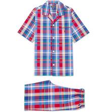 POLO RALPH LAUREN | Checked Cotton-poplin Pyjama Set | Clouty