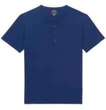POLO RALPH LAUREN | Stretch-micro Modal Henley Pyjama T-shirt | Clouty