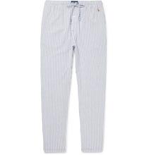 POLO RALPH LAUREN | Slim-fit Striped Cotton Pyjama Trousers | Clouty