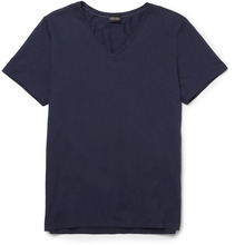Hanro | Superior Mercerised Stretch-cotton T-shirt | Clouty