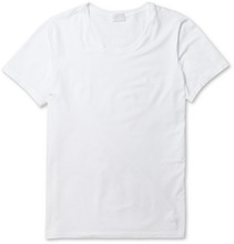 Hanro | Superior Mercerised Cotton-blend T-shirt | Clouty