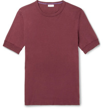 Schiesser | Karl Heinz Slim-fit Cotton-jersey T-shirt | Clouty