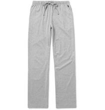 POLO RALPH LAUREN | Melange Cotton-jersey Pyjama Trousers | Clouty