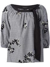 Marc Jacobs | блузка с цветами Marc Jacobs | Clouty