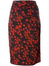 GIVENCHY   юбка с абстрактным принтом Givenchy   Clouty