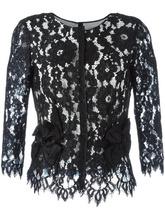 Marc Jacobs | кружевная блузка с цветочным узором Marc Jacobs | Clouty