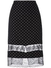 GIVENCHY   юбка с кружевными вставками Givenchy   Clouty