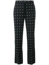 GIVENCHY | прямые брюки с узором Givenchy | Clouty