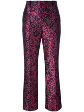 LANVIN | жаккардовые брюки Lanvin | Clouty