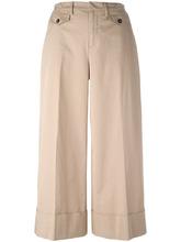 No. 21 | широкие укороченные брюки Nº21 | Clouty
