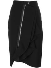 GIVENCHY   асимметричная юбка с оборками Givenchy   Clouty