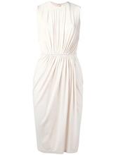 GIVENCHY   платье-шифт с присборенной деталью Givenchy   Clouty
