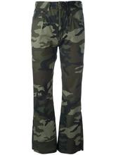 MM6 Maison Margiela | брюки с камуфляжным принтом Mm6 Maison Margiela | Clouty