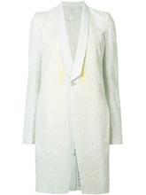 RICK OWENS | пальто с отделкой в виде паутины Rick Owens | Clouty