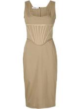 GIVENCHY | облегающее платье-бюстье Givenchy | Clouty