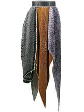 Loewe   плиссированная юбка с завышенной талией Loewe   Clouty